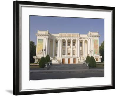 Magnificent Opera, Dushanbe, Tajikistan, Central Asia-Michael Runkel-Framed Photographic Print