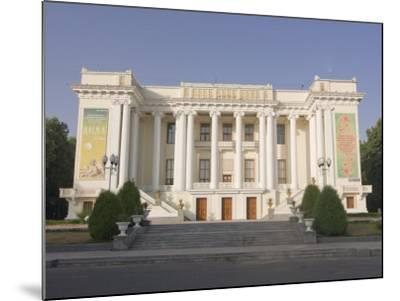 Magnificent Opera, Dushanbe, Tajikistan, Central Asia-Michael Runkel-Mounted Photographic Print
