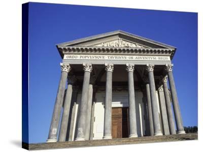 Gran Madre Di Dio Church, Turin, Piedmont, Italy, Europe-Vincenzo Lombardo-Stretched Canvas Print