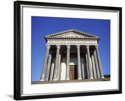 Gran Madre Di Dio Church, Turin, Piedmont, Italy, Europe-Vincenzo Lombardo-Framed Photographic Print