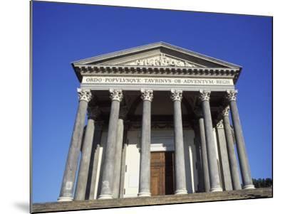 Gran Madre Di Dio Church, Turin, Piedmont, Italy, Europe-Vincenzo Lombardo-Mounted Photographic Print