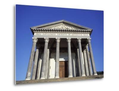 Gran Madre Di Dio Church, Turin, Piedmont, Italy, Europe-Vincenzo Lombardo-Metal Print