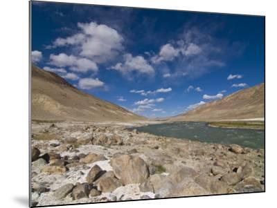 Pamir River, Tajikistan, Central Asia-Michael Runkel-Mounted Photographic Print