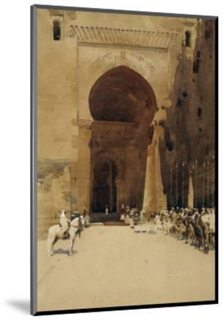 The Gate of Justice, 1890-Arthur Melville-Mounted Giclee Print