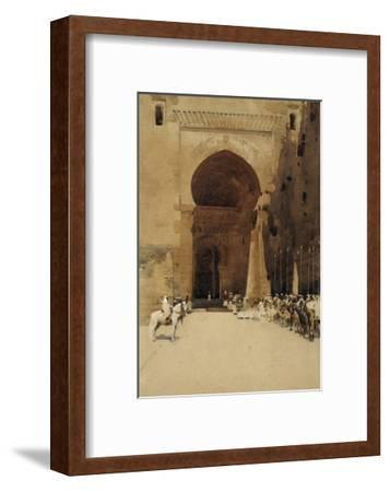 The Gate of Justice, 1890-Arthur Melville-Framed Giclee Print