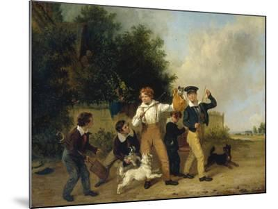 Boys with their Pets, 1841-Edmund Bristow-Mounted Giclee Print