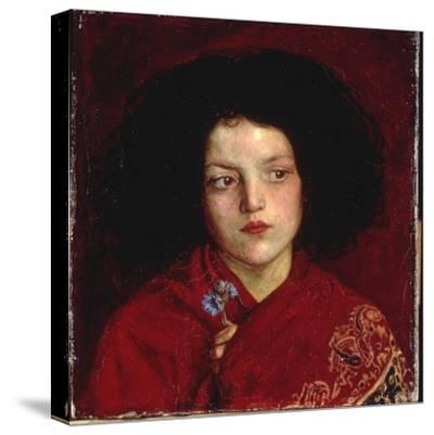The Irish Girl, 1860-Ford Madox Brown-Stretched Canvas Print