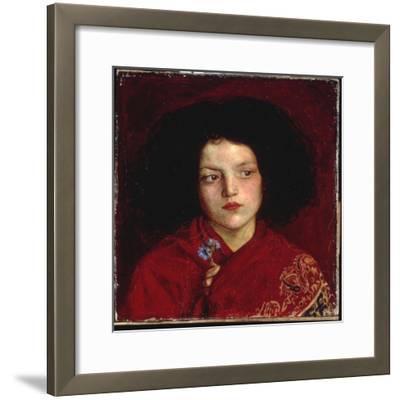 The Irish Girl, 1860-Ford Madox Brown-Framed Giclee Print