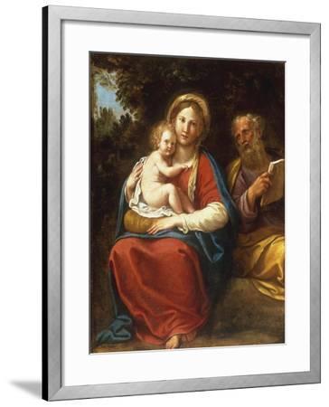 The Holy Family-Francesco Albani-Framed Giclee Print