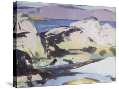 Low Tide-Francis Campbell Boileau Cadell-Stretched Canvas Print