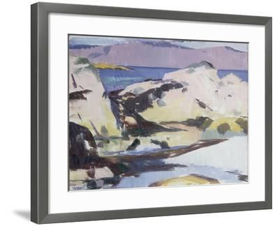 Low Tide-Francis Campbell Boileau Cadell-Framed Giclee Print