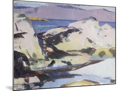 Low Tide-Francis Campbell Boileau Cadell-Mounted Giclee Print