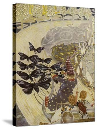 Illustration, 1928-Hans Baluschek-Stretched Canvas Print