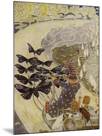 Illustration, 1928-Hans Baluschek-Mounted Giclee Print