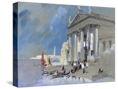 San Giorgio Maggiore, Venice-Hercules Brabazon Brabazon-Stretched Canvas Print