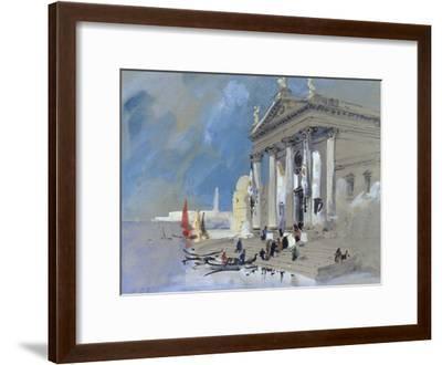 San Giorgio Maggiore, Venice-Hercules Brabazon Brabazon-Framed Giclee Print