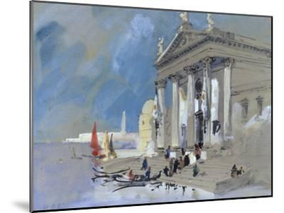 San Giorgio Maggiore, Venice-Hercules Brabazon Brabazon-Mounted Giclee Print