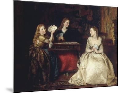 Hearts are Trumps, 1866-James Archer-Mounted Giclee Print