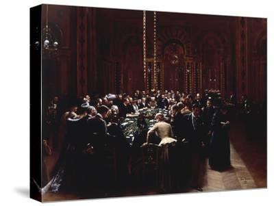 The Casino at Monte Carlo (Rien ne va plus), 1890-Jean B?raud-Stretched Canvas Print