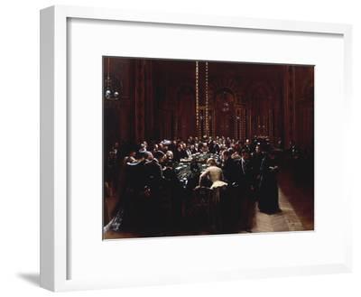 The Casino at Monte Carlo (Rien ne va plus), 1890-Jean B?raud-Framed Giclee Print