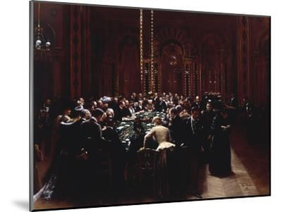 The Casino at Monte Carlo (Rien ne va plus), 1890-Jean B?raud-Mounted Giclee Print