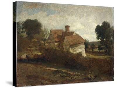 Landscape with Cottages, c.1809-John Constable-Stretched Canvas Print