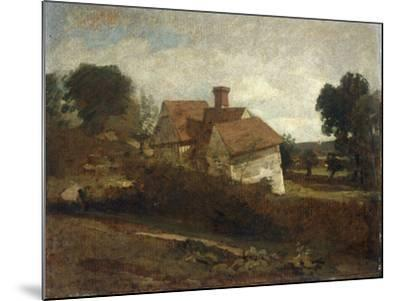 Landscape with Cottages, c.1809-John Constable-Mounted Giclee Print