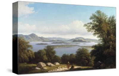 Loch Lomond-John Knox-Stretched Canvas Print