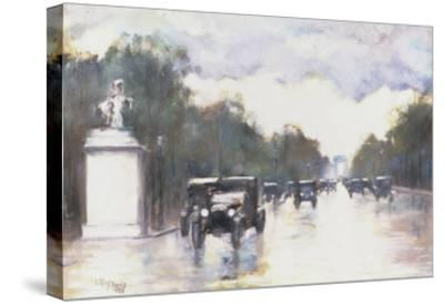 The Champs Elysees, 1928-Lesser Ury-Stretched Canvas Print