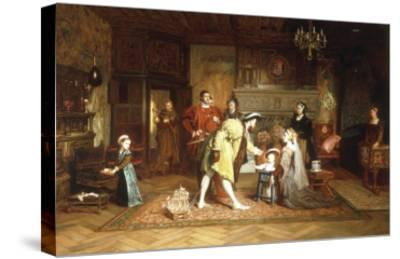 The Royal Nursery, 1538-Marcus Stone-Stretched Canvas Print
