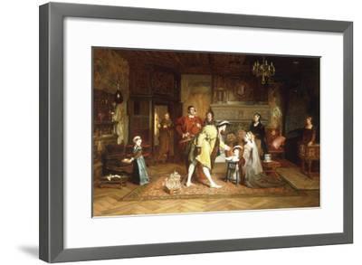 The Royal Nursery, 1538-Marcus Stone-Framed Giclee Print