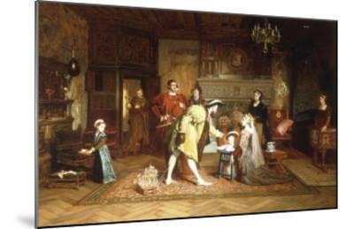 The Royal Nursery, 1538-Marcus Stone-Mounted Giclee Print