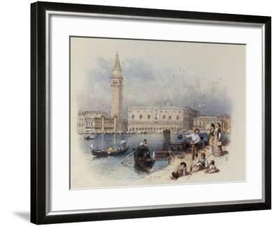 Doges Palace, Venice-Myles Birket Foster-Framed Giclee Print