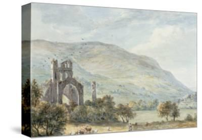 Llanthony Abbey, Monmouthshire-Paul Sandby-Stretched Canvas Print