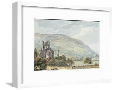 Llanthony Abbey, Monmouthshire-Paul Sandby-Framed Giclee Print