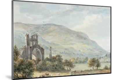 Llanthony Abbey, Monmouthshire-Paul Sandby-Mounted Giclee Print