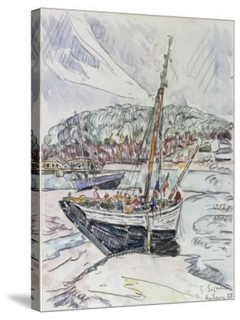 Audierne, 1927-Paul Signac-Stretched Canvas Print