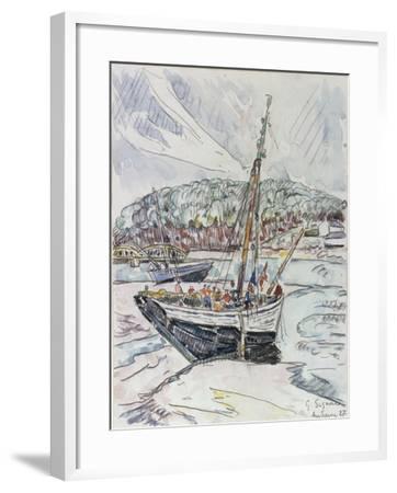 Audierne, 1927-Paul Signac-Framed Giclee Print