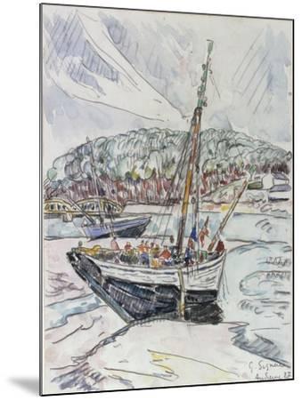 Audierne, 1927-Paul Signac-Mounted Giclee Print