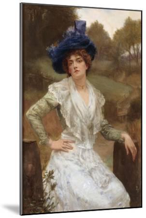 Waiting, 1897-Reginald Arthur-Mounted Giclee Print