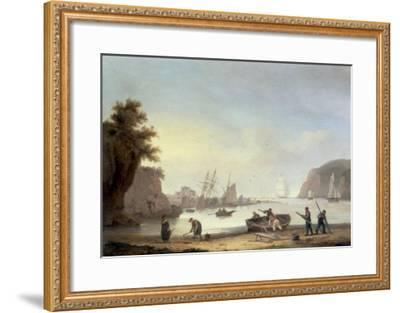 Teignmouth and the Ness, Devon, 1825-Thomas Luny-Framed Giclee Print