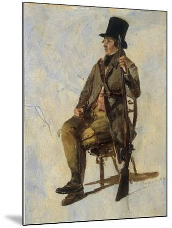 A Study of a Gamekeeper, 1834-Thomas Sidney Cooper-Mounted Giclee Print