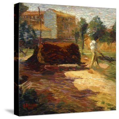 Periferia, 1909-Umberto Boccioni-Stretched Canvas Print