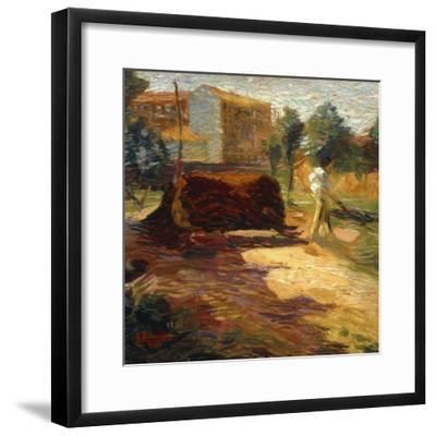Periferia, 1909-Umberto Boccioni-Framed Giclee Print