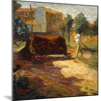 Periferia, 1909-Umberto Boccioni-Mounted Giclee Print