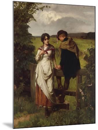 The Girl I left behind me, c.1880-William Holyoake-Mounted Giclee Print