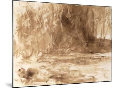 Study of the River Washburn, Yorkshire, c.1815-J^ M^ W^ Turner-Mounted Giclee Print