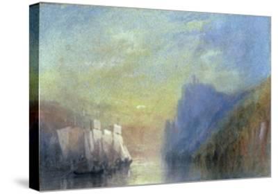 On the Rhine, c.1830-J^ M^ W^ Turner-Stretched Canvas Print