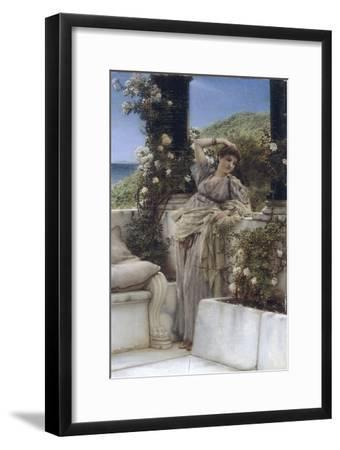 Thou Rose of all the Roses-Sir Lawrence Alma-Tadema-Framed Giclee Print