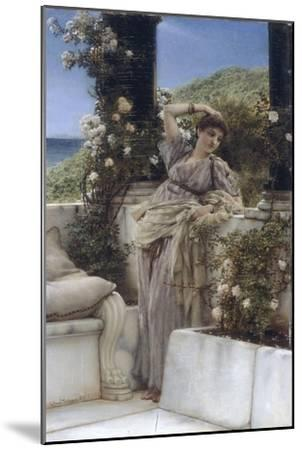 Thou Rose of all the Roses-Sir Lawrence Alma-Tadema-Mounted Giclee Print
